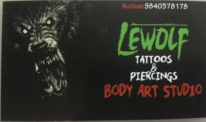Lewolf Tattoos Piercing Body Art Studio Closed Down Closed Down In Mugalivakkam Chennai Justdial