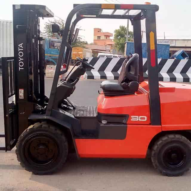Ganesh Magesh Hydraulics, Serpananchery - Forklift Dealers in