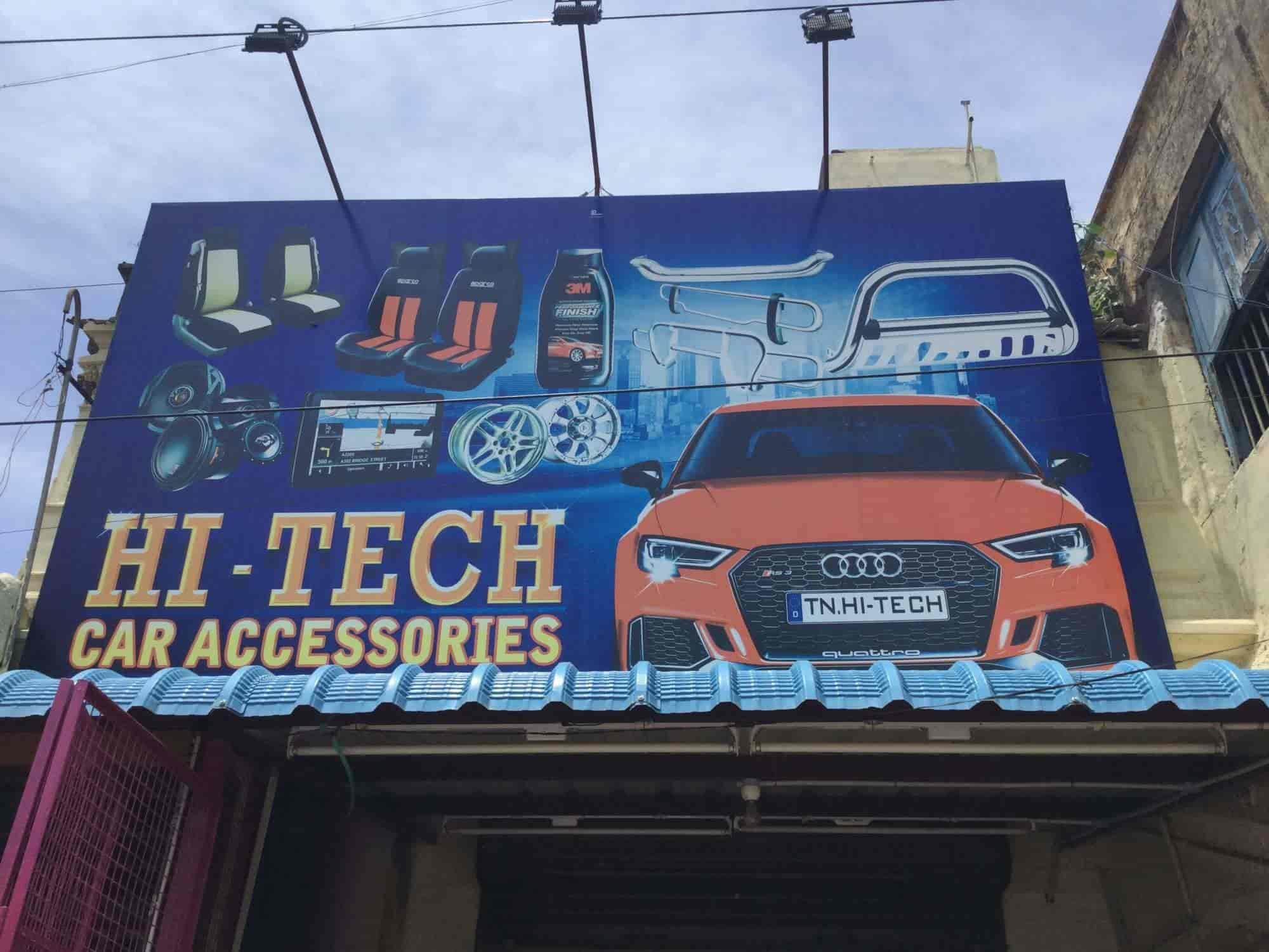 Hi Tech Car Accessories Chidambaram Ho Car Accessory Dealers In