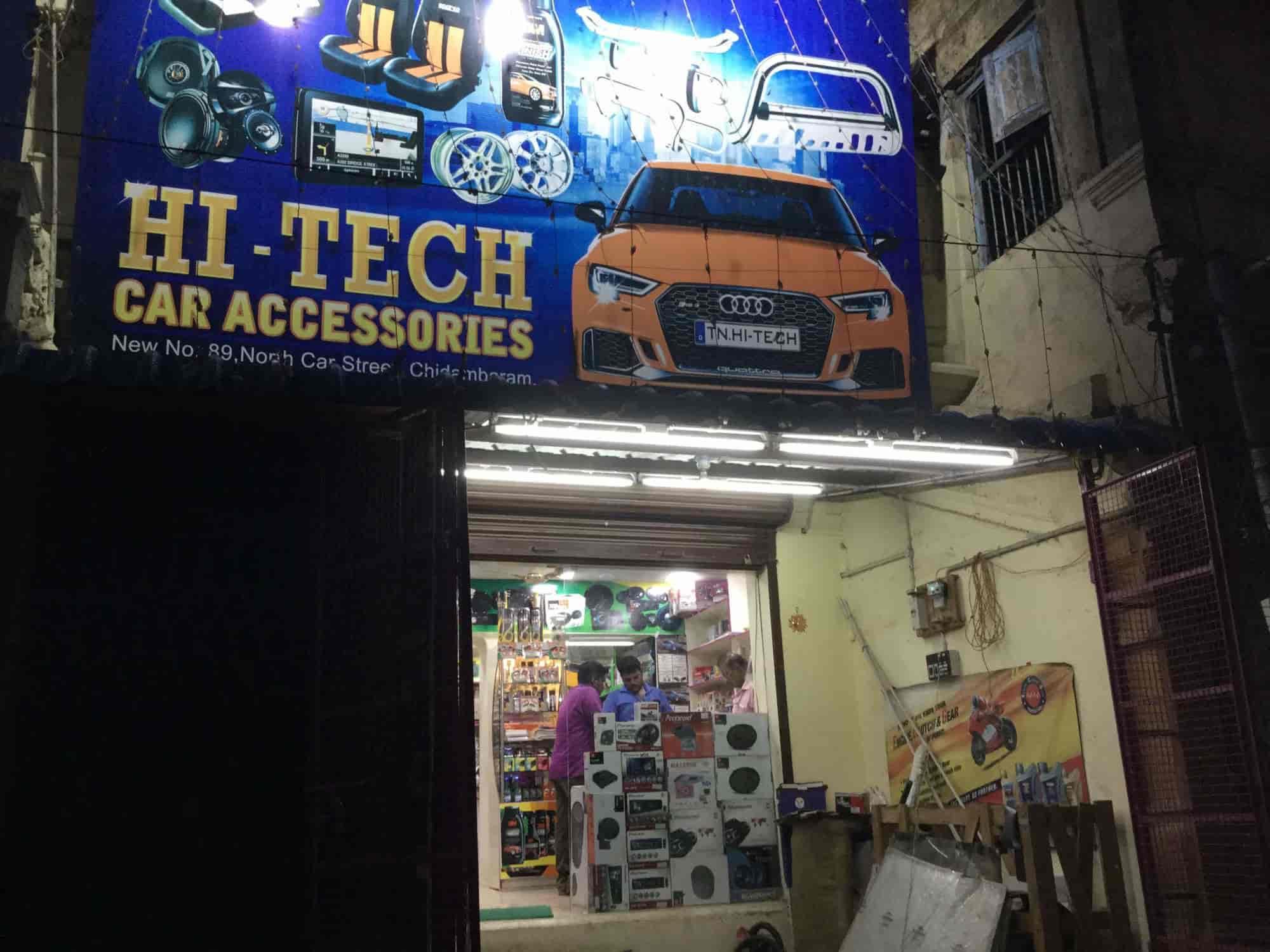 Hi Tech Car Accessories Photos Chidambaram Ho Chidambaram