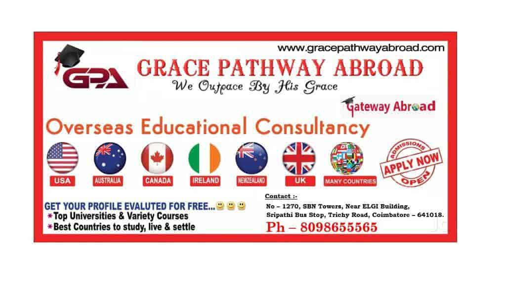 Grace Pathway Abroad, Coimbatore Central - IELTS Tutorials