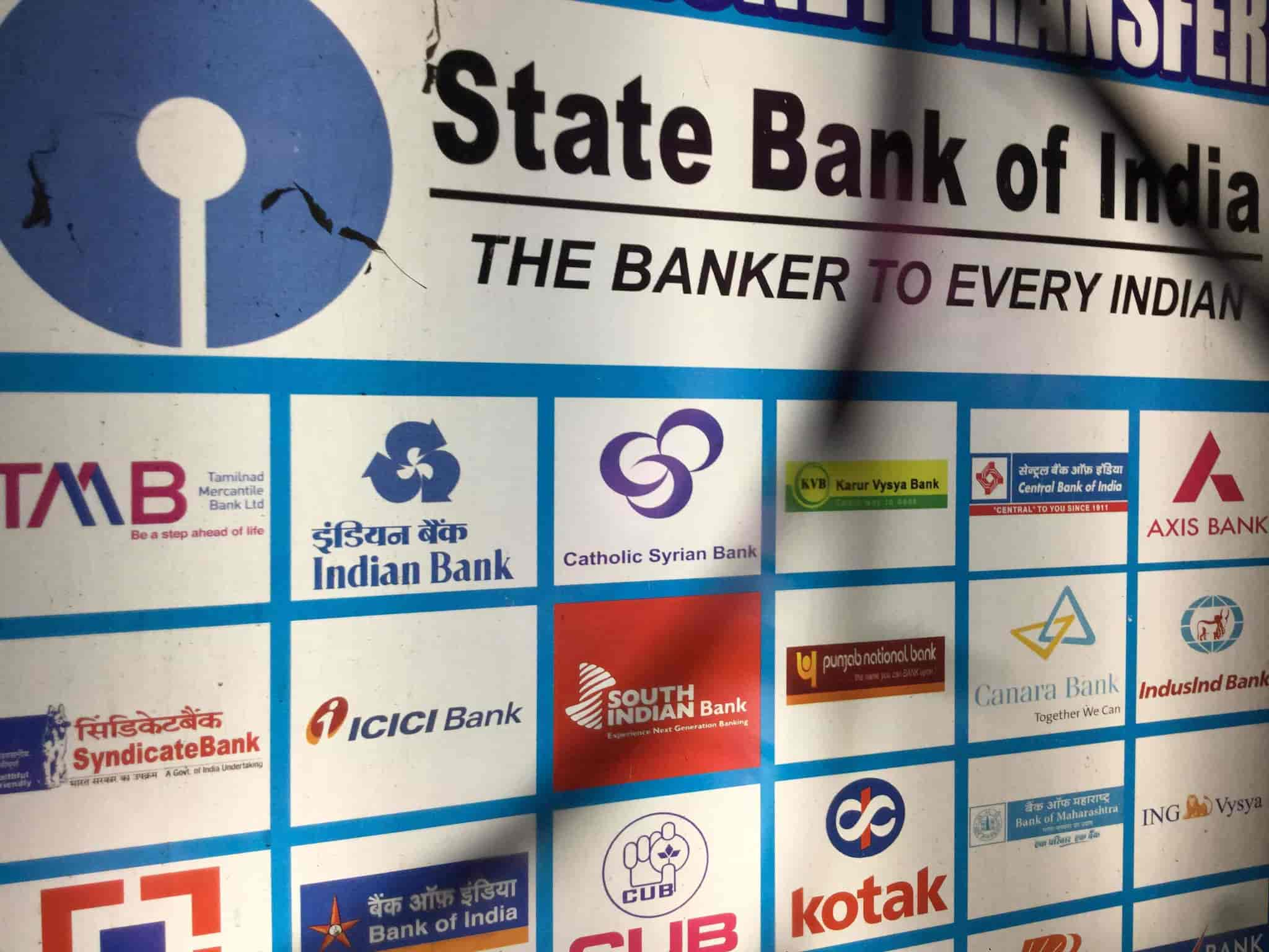 State Bank Money Transfer Service Photos Ganapathy Coimbatore Agencies