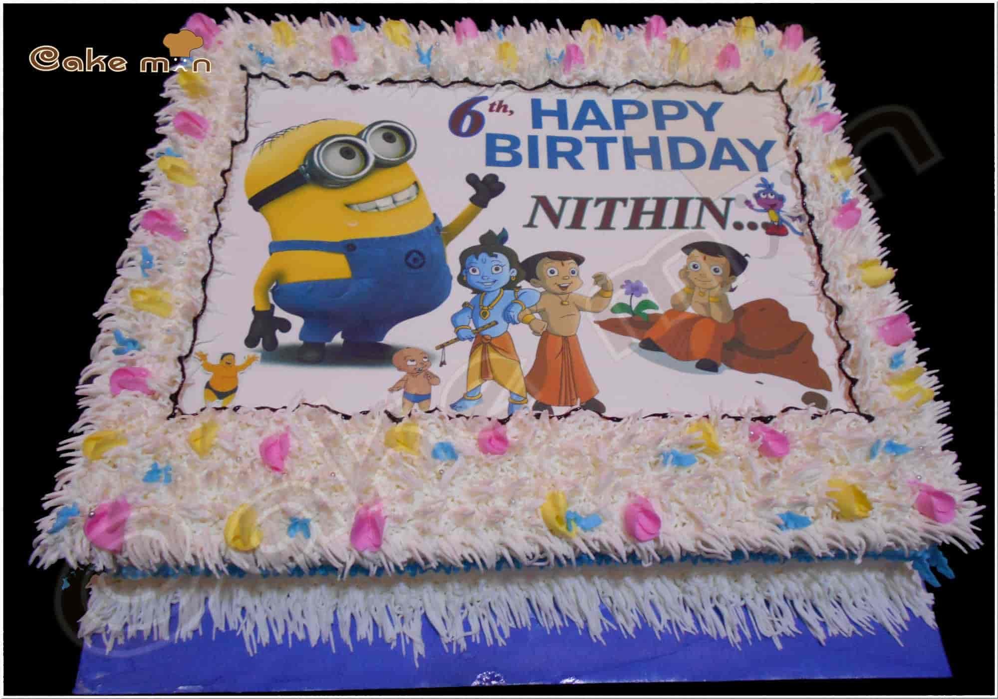 Enjoyable Cake Man Saravanampatti Coimbatore Cake Shops Justdial Funny Birthday Cards Online Elaedamsfinfo
