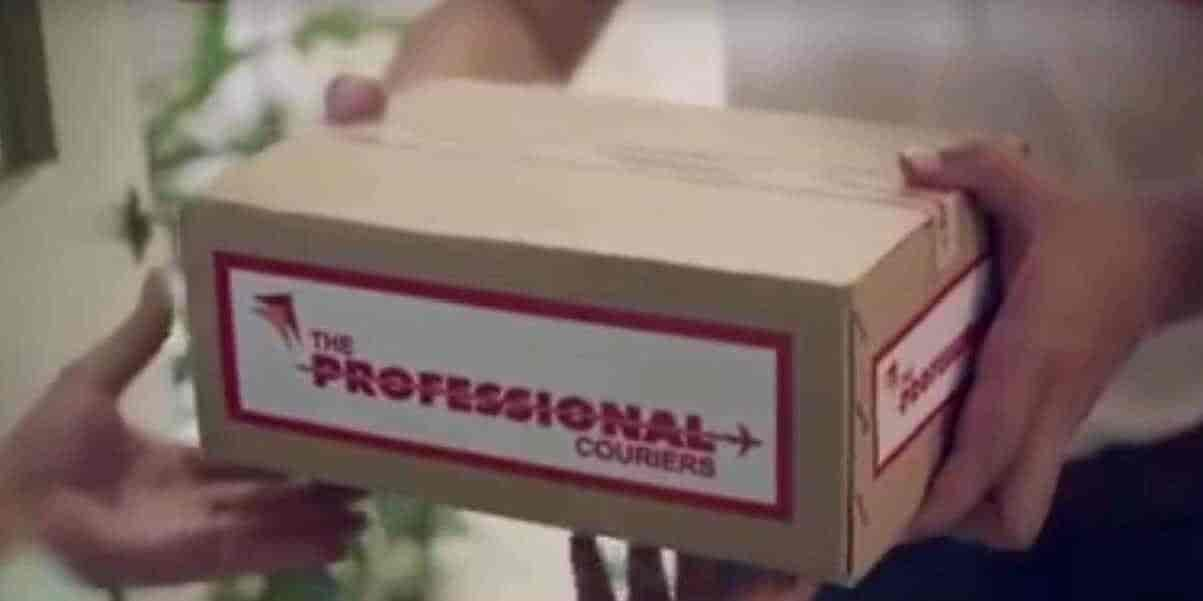 owner of professional courier