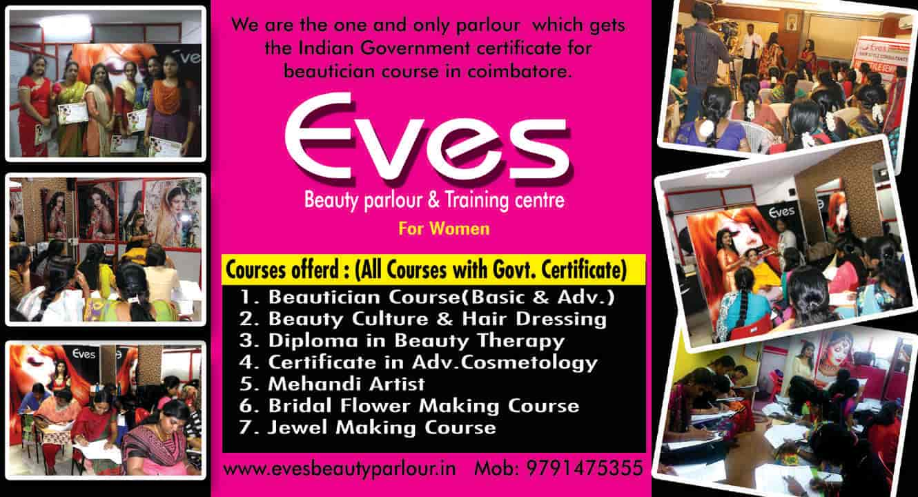 Eves Beauty Parlour And Training Centre, Gandhipuram - Women Beauty