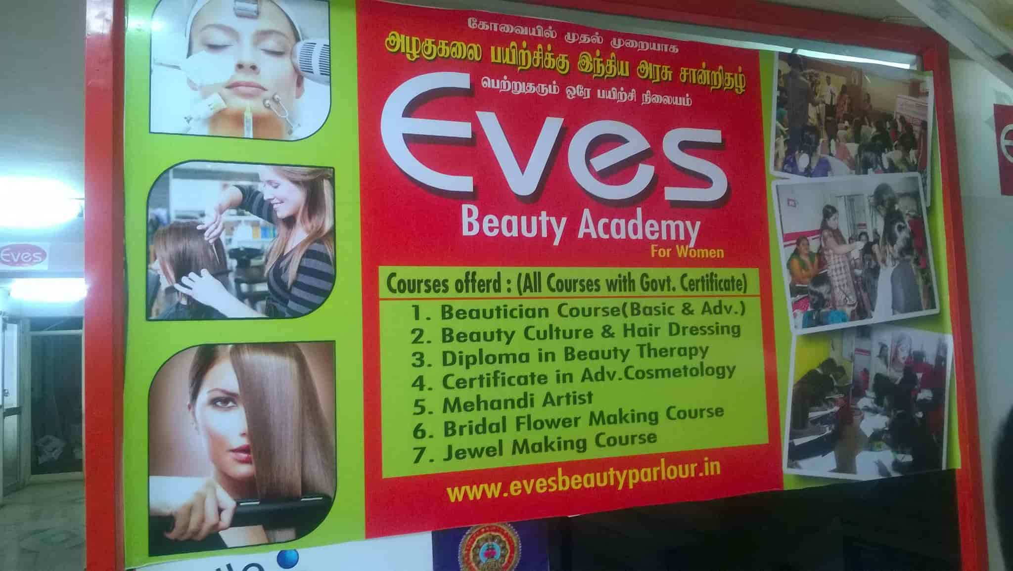 Eves Beauty Academy, Gandhipuram Coimbatore - Beauty Parlours in