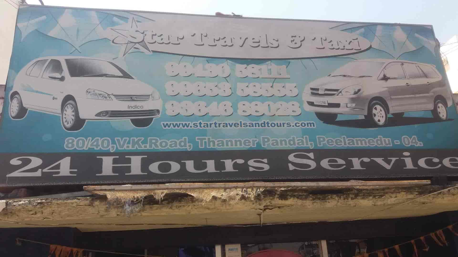 Star Travels Taxi Photos, Peelamedu, Coimbatore- Pictures & Images