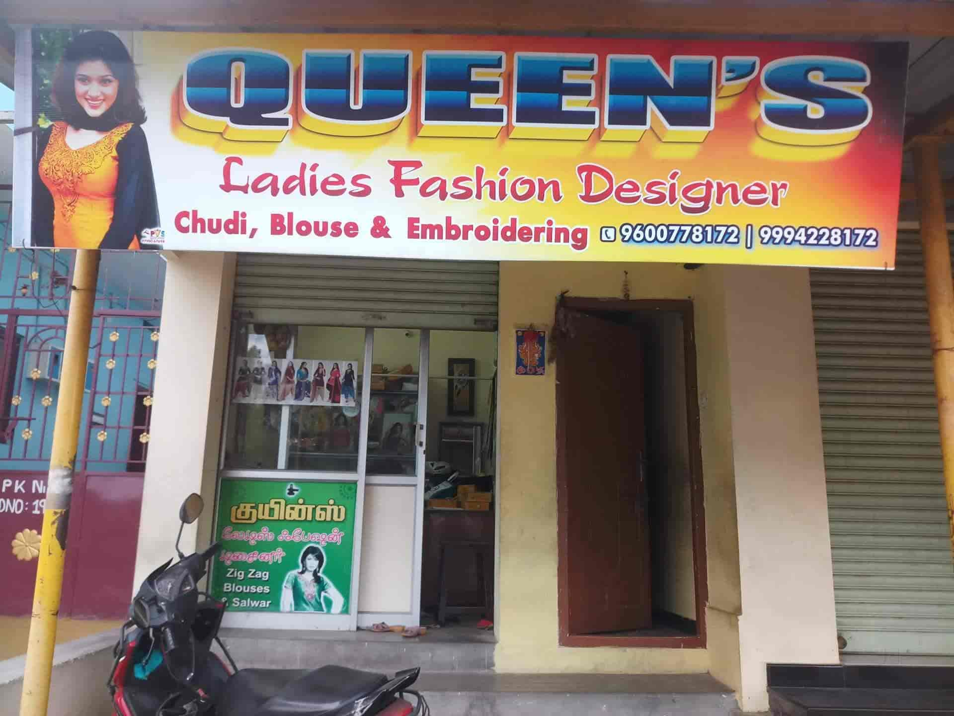 Queens Ladies Fashion Designer Perur Embroidery Job Works In Coimbatore Coimbatore Justdial