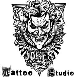 Joker Tattoo Designs Black And White , Best Tattoo Ideas