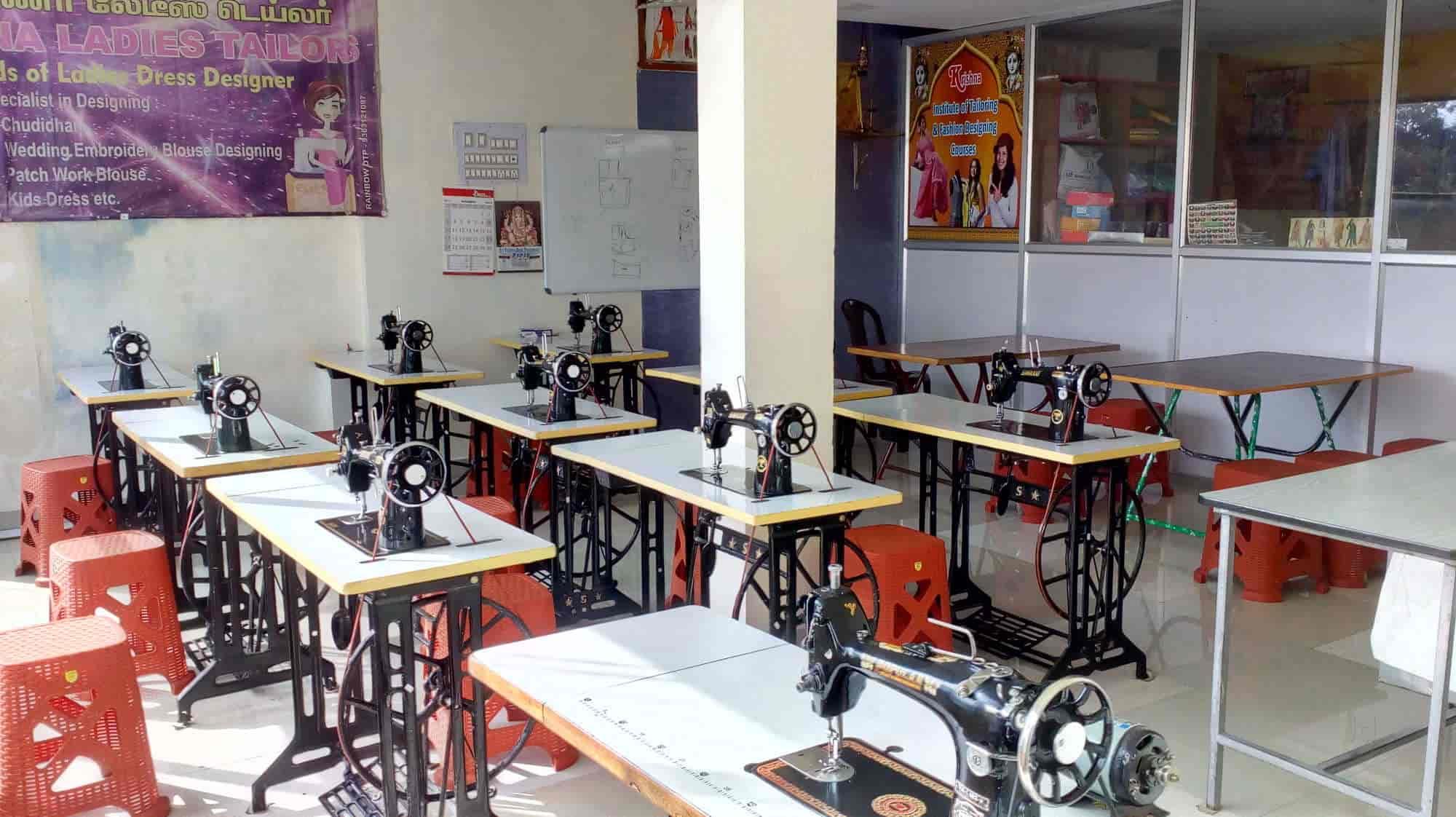 Krishna Institute Of Tailoring Fashion Designing Courses Sundarapuram Tailoring Classes In Coimbatore Justdial