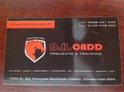 Dhc Cadd Training Peelamedu Autocad Training Institutes In