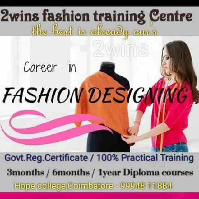 2wins Fashion Training Centre Hopes Tailoring Classes In Coimbatore Justdial