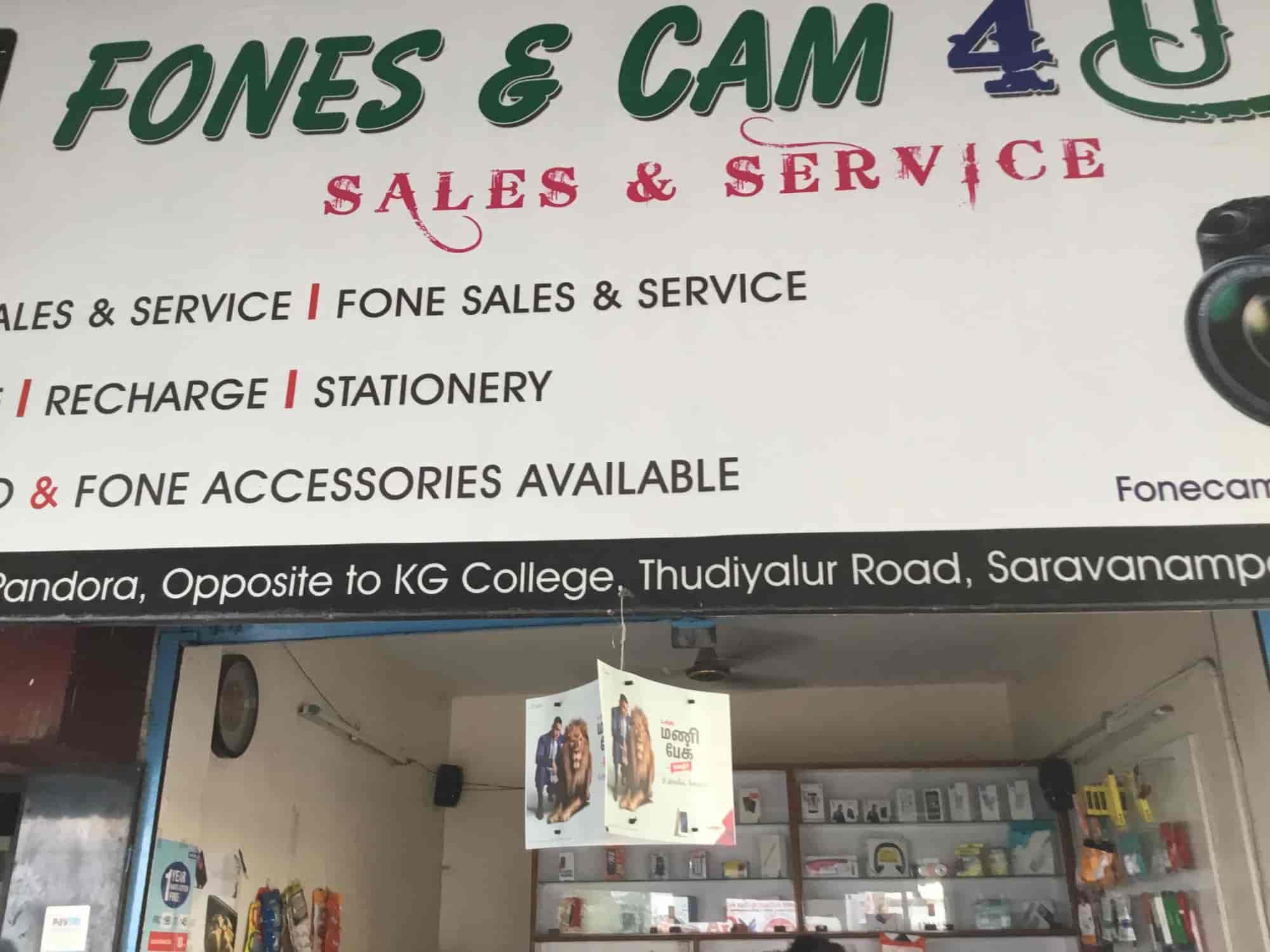 Cam 4 U >> Fones Cam 4 U Saravanampatti Mobile Phone Repair Services In