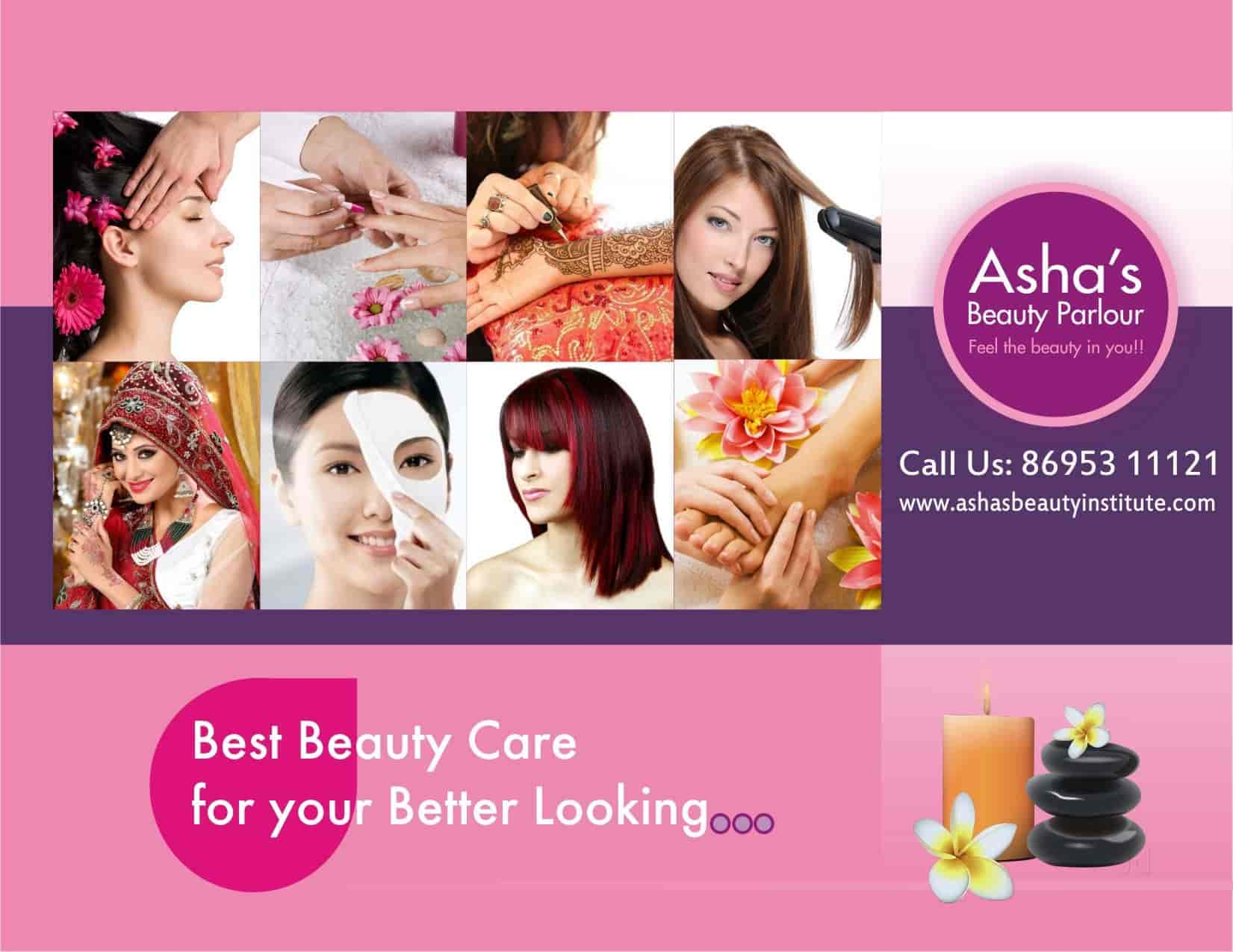 Ashas Beauty Parlour & Training Institute, Gandhipuram Coimbatore