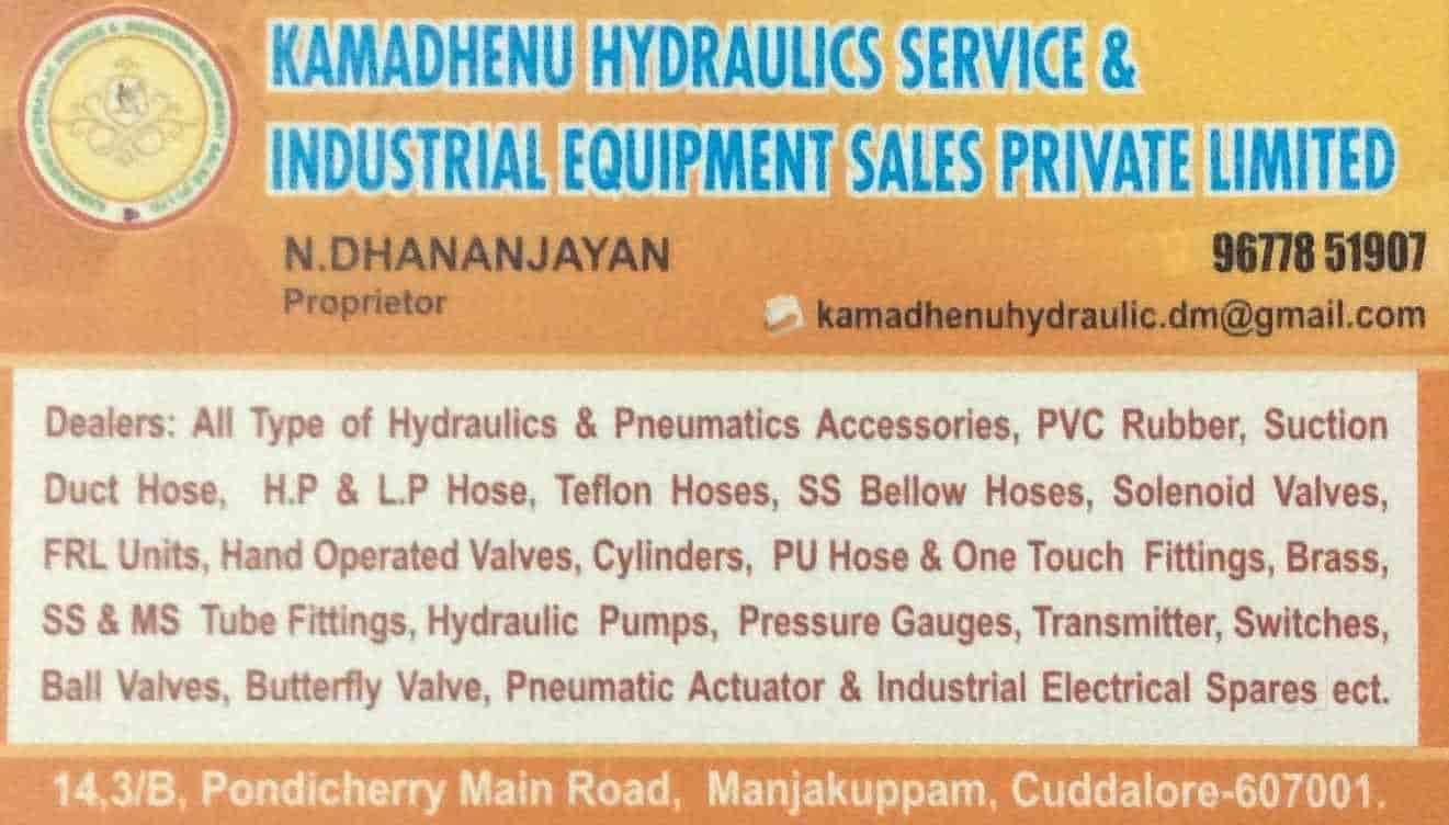 Kamadghenu Hydraulic Service & Industrial Equipment Sales