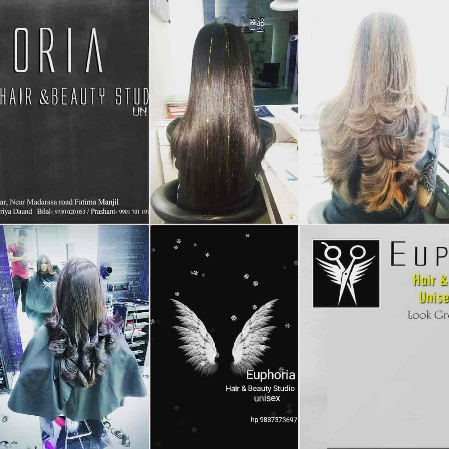 Euphoria Hair Beauty Studio Unisex Academy Beauty Spas In Daund