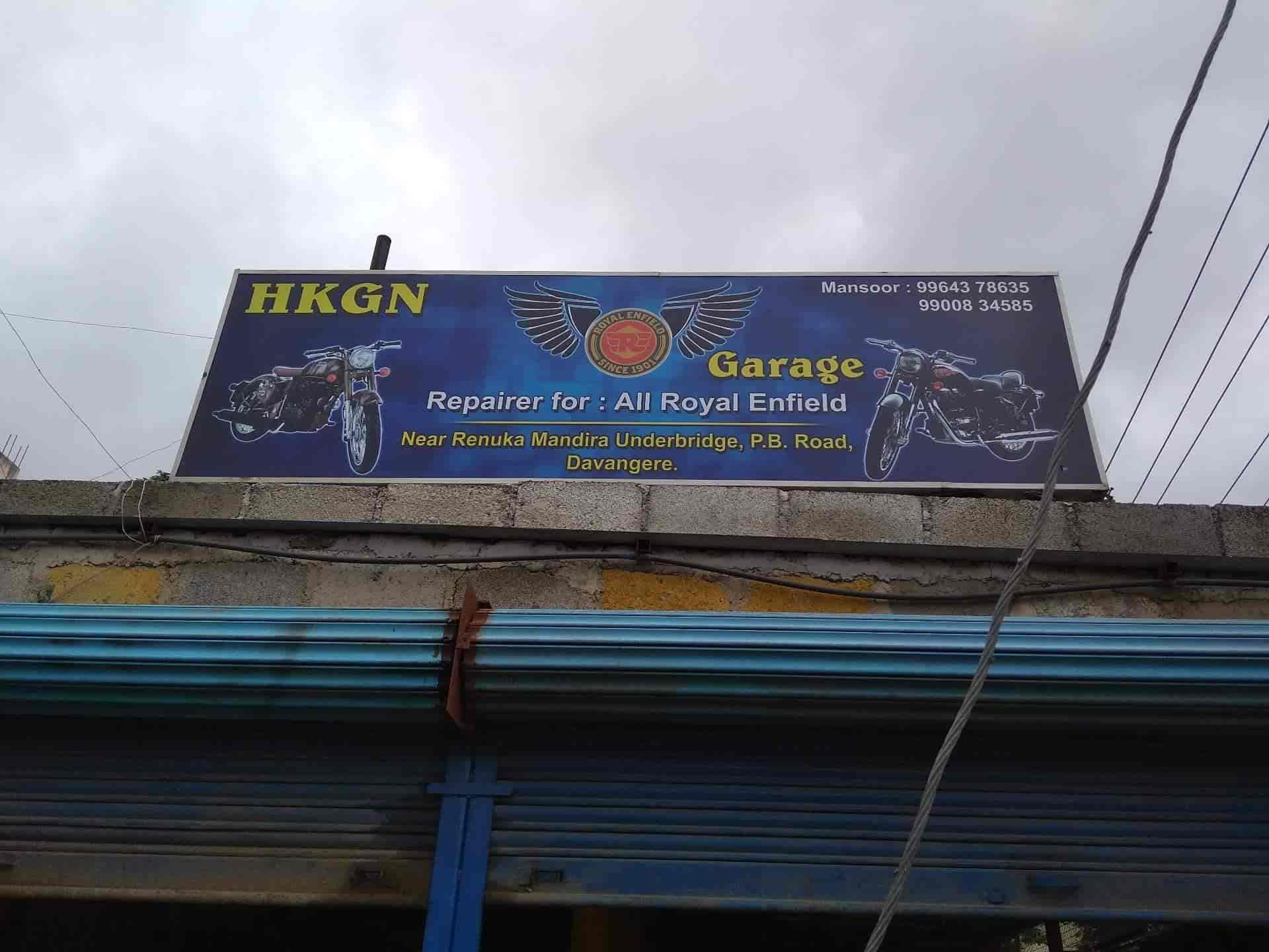 Hkgn Royal Enfield Garage, Pb Road Davangere - Garages in Davangere