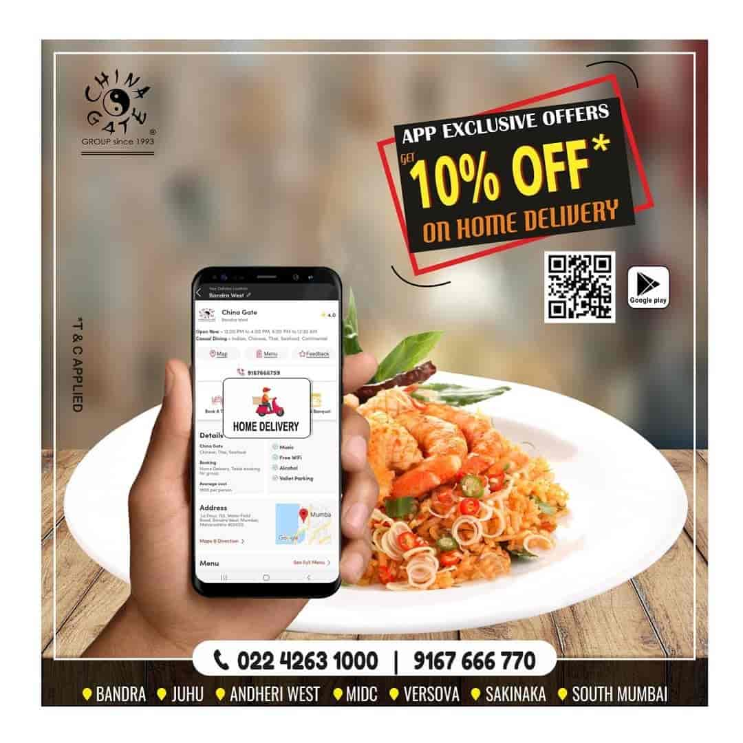 China Gate, Juhu, Mumbai - Multicuisine Restaurants - Justdial