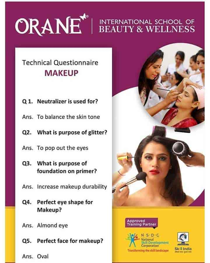 Orane Institute Of Beauty & Wellness, Bhatar Road - Institutes For