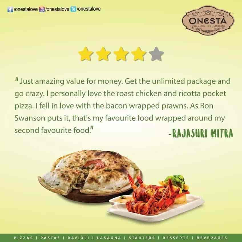 Onesta, Yelahanka, Bangalore - Pizza, Italian Cuisine