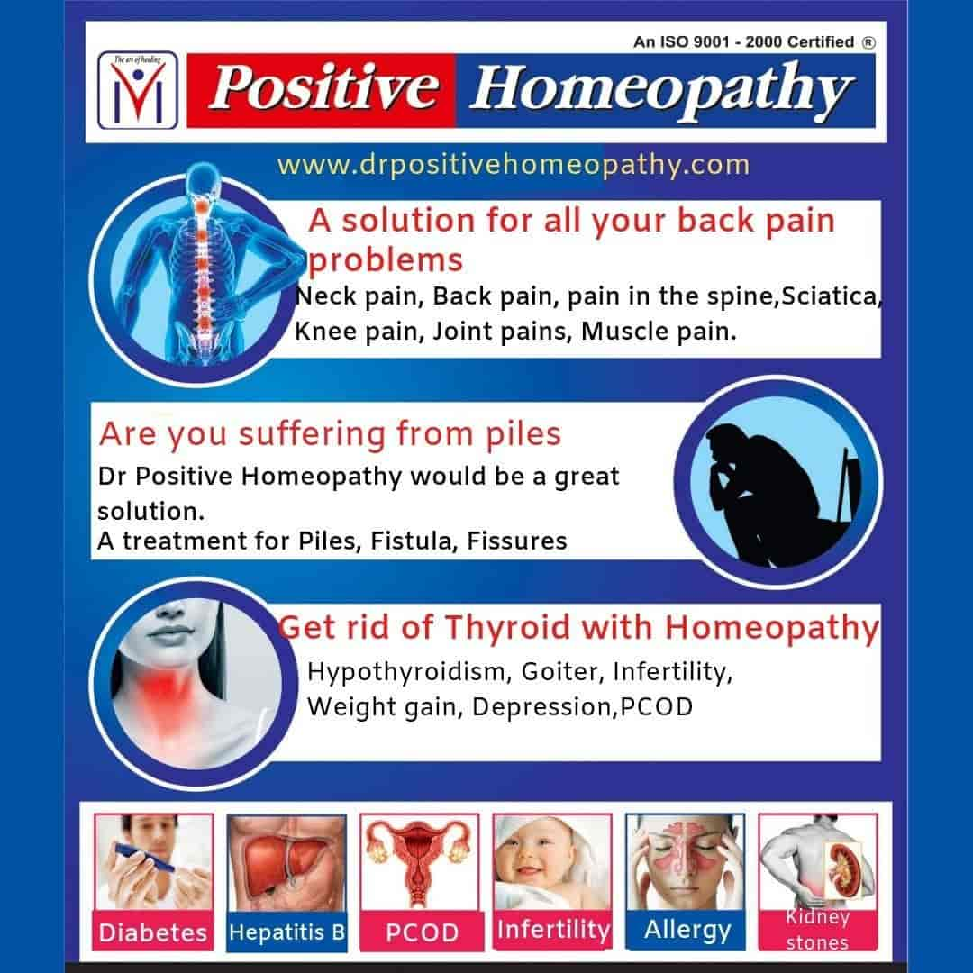 Positive Homeopathy - Homeopathic Clinics - Book Appointment