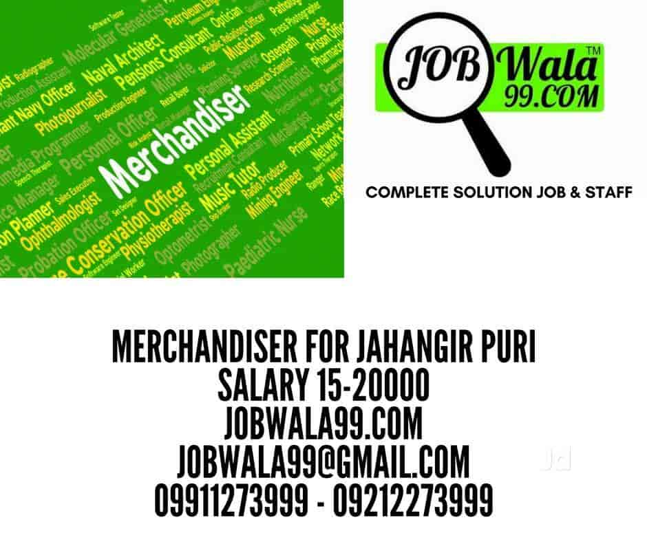 Jobwala99 com, Rohini Sector 11 - Placement Services (For