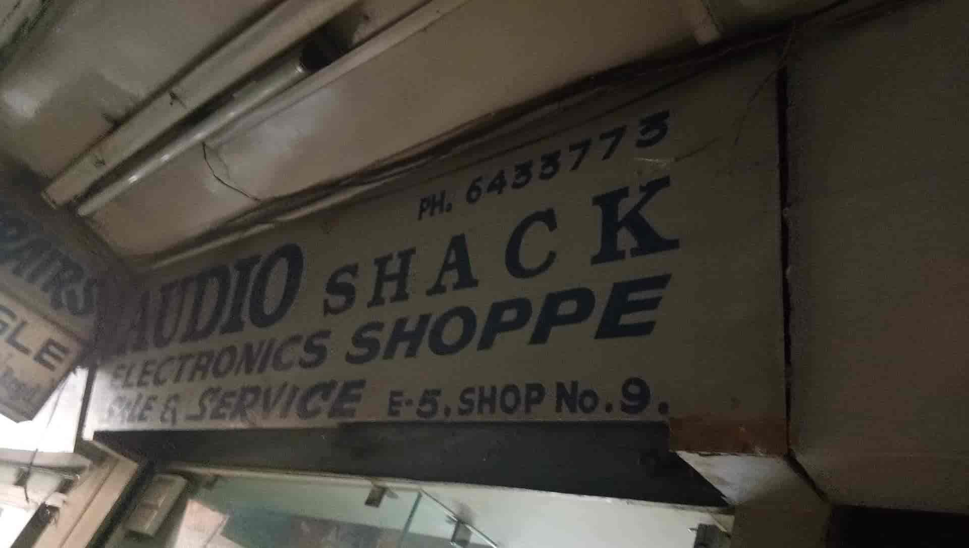 Audio Shack Electronics Shope Photos, Kalkaji, Delhi