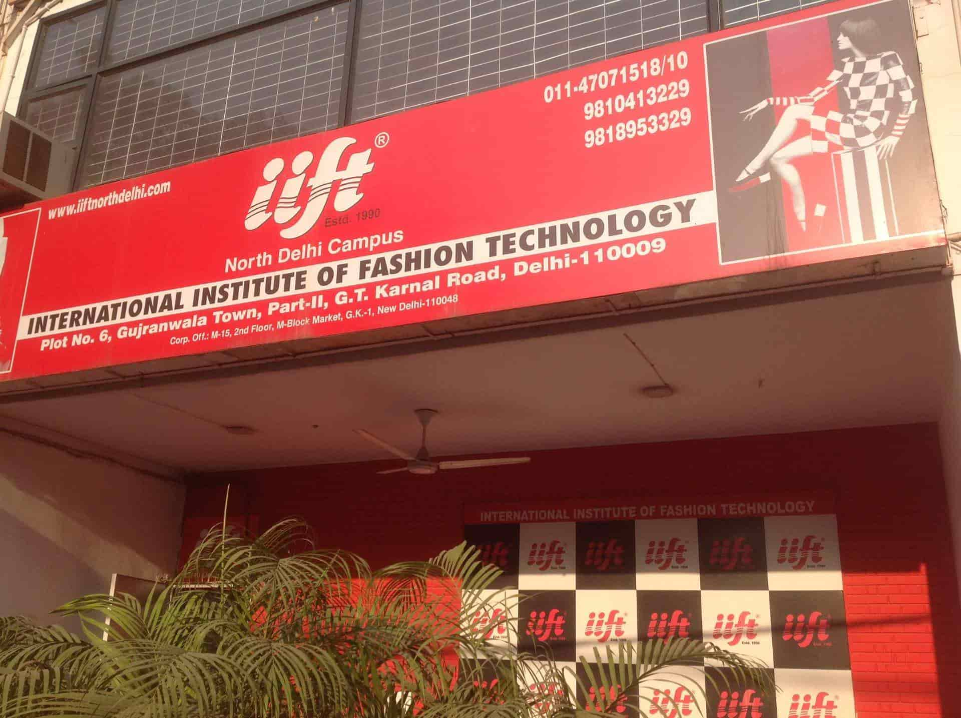 Iift North Delhi Campus Gujranwala Town Fashion Designing Institutes In Delhi Justdial