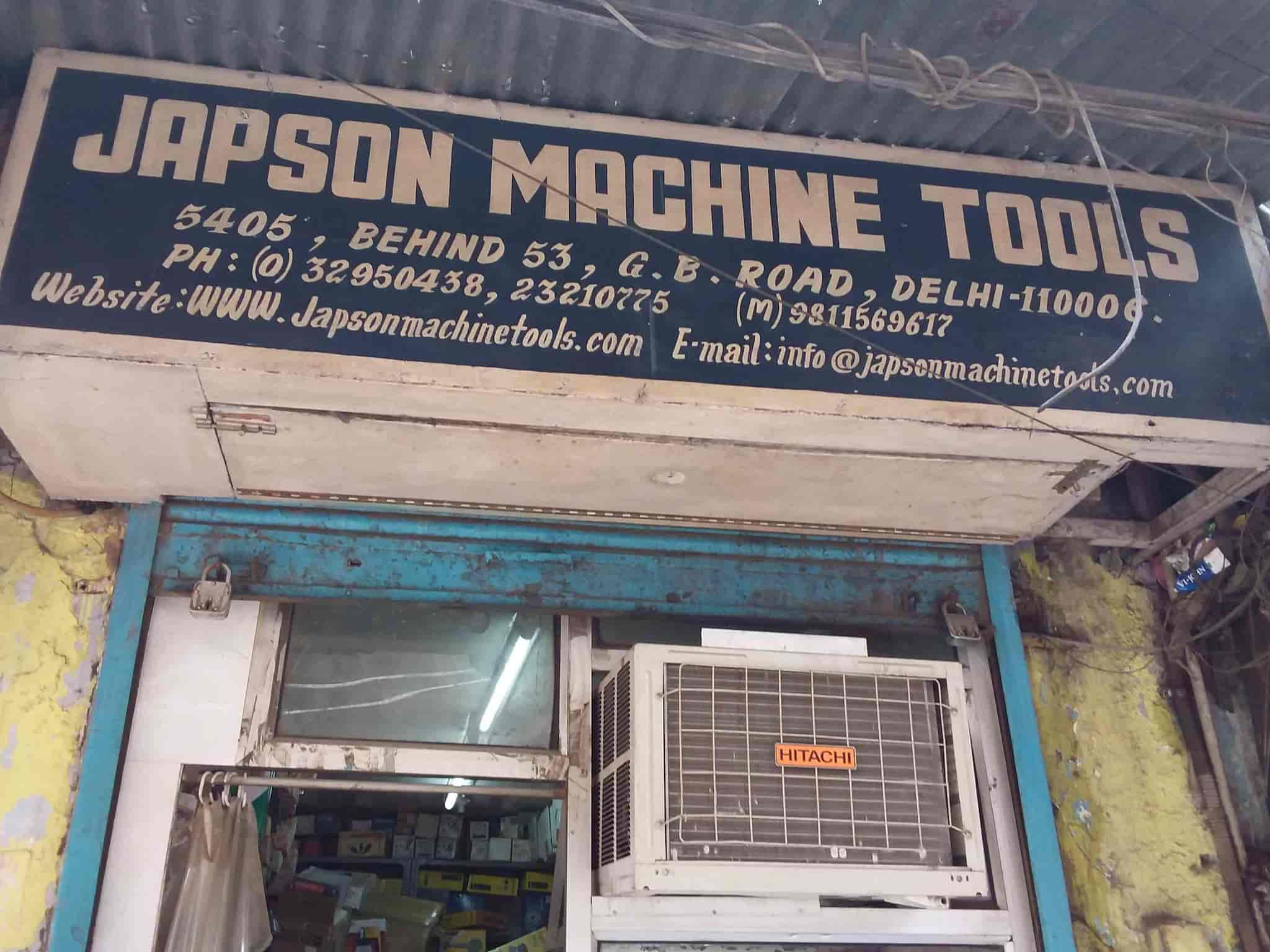 Japson Machine Tools, Gb Road - Drilling Machine Dealers in