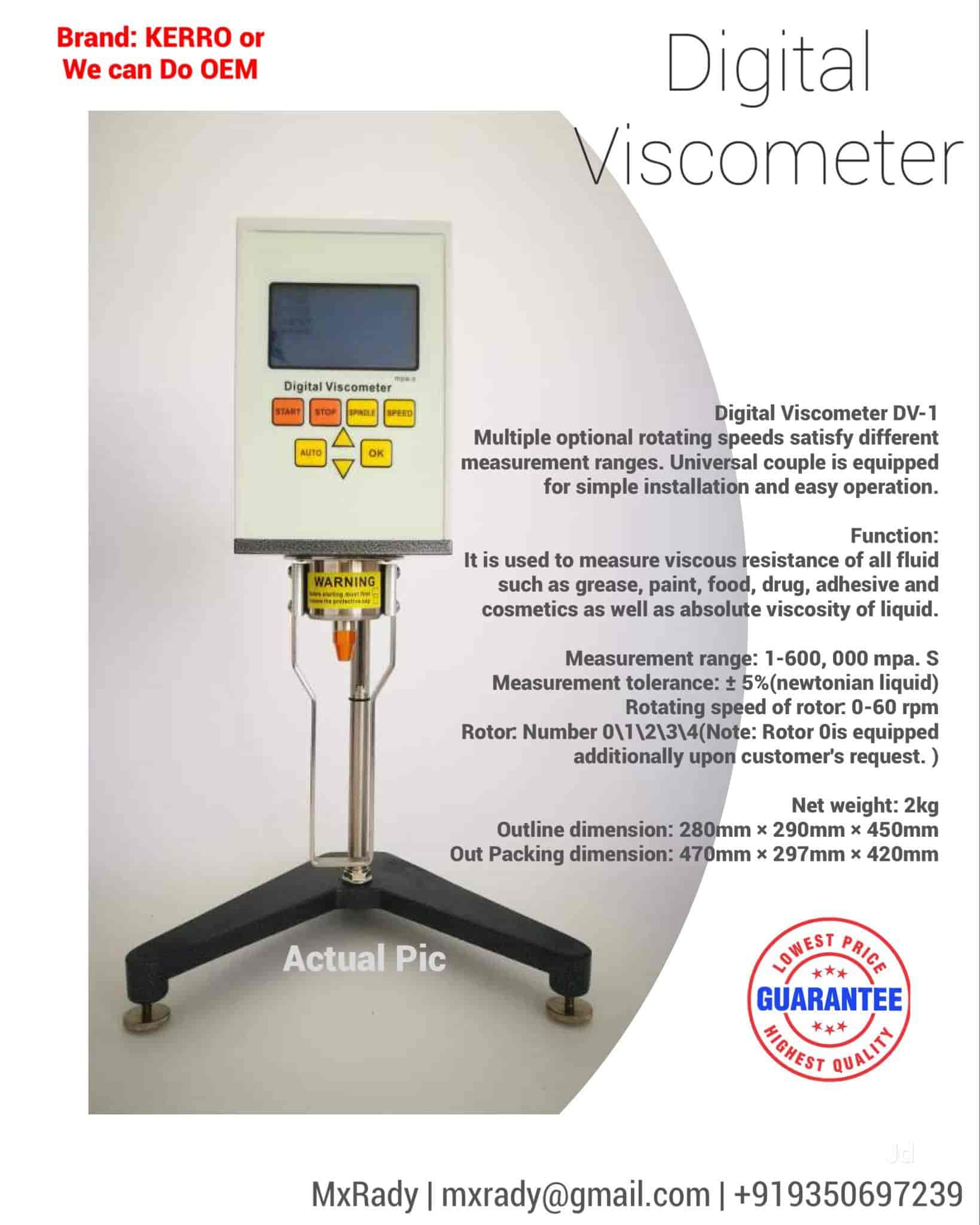 Mxrady Lab Solutions Pvt Ltd, Pitampura - Electronic Weighing