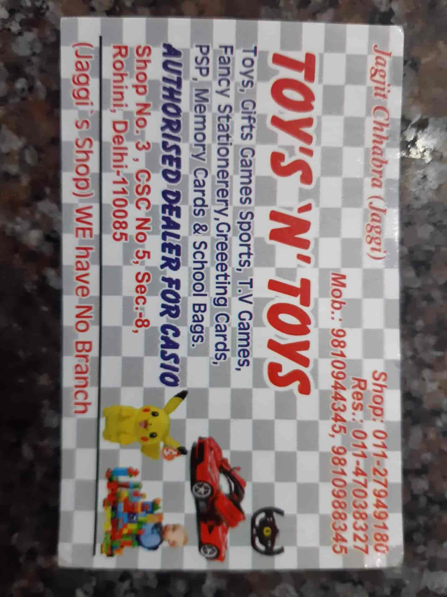Toys N Toys, Rohini Sector 8 - Stationery Shops in Delhi - Justdial