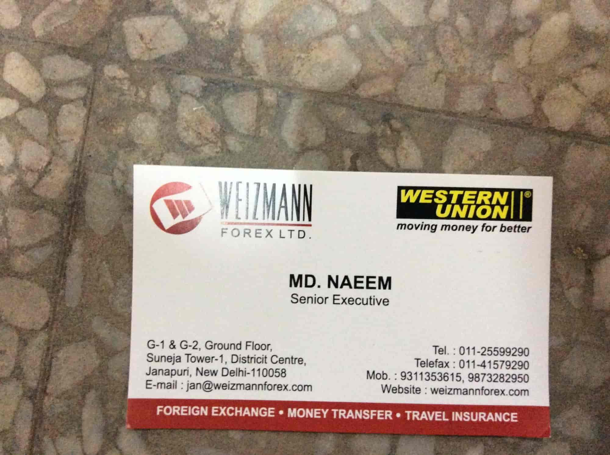 Weizmann Forex Ltd. in Connaught Place, Delhi | Sulekha Delhi