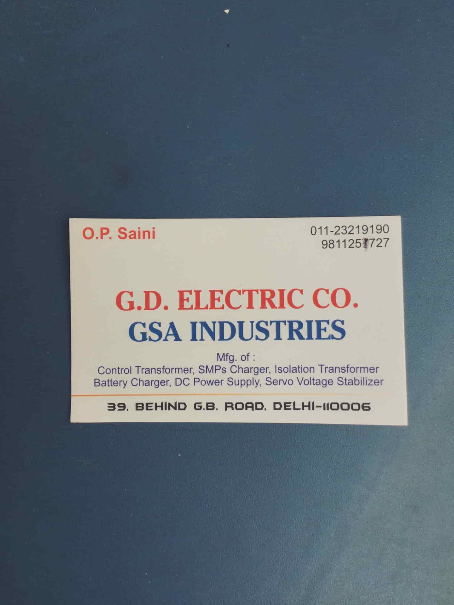GD Electrical Company, Gb Road - AC Dealers in Delhi - Justdial