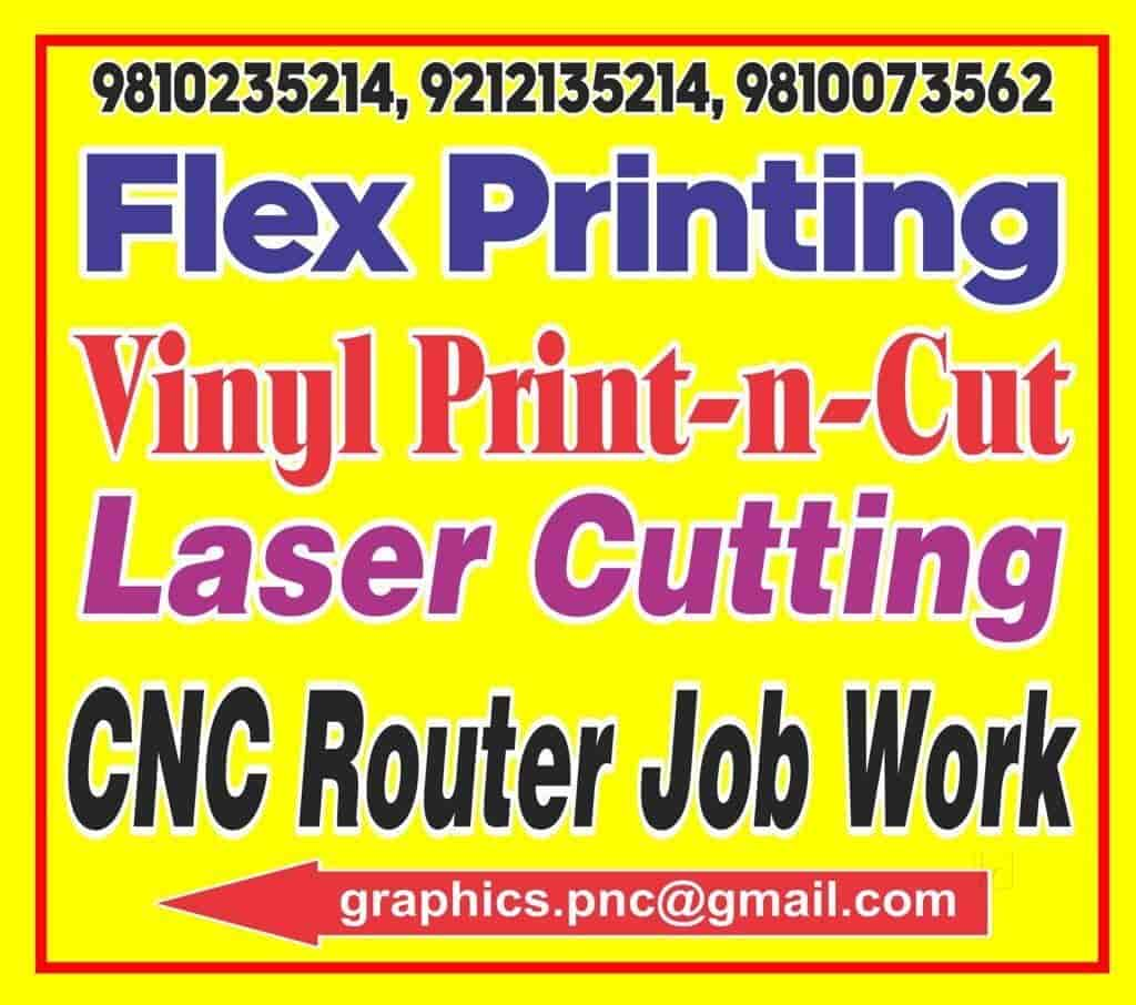 PNC Graphics, Chattarpur - CNC Laser Cutting Job Works in Delhi