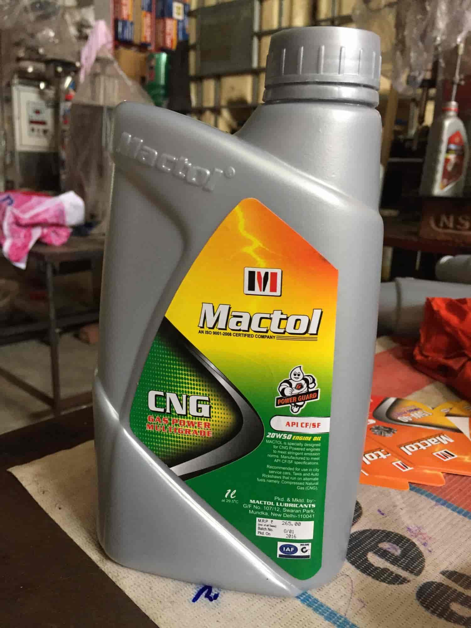 Mactol Lubrication, Nangloi - Lubricant Oil Manufacturers in