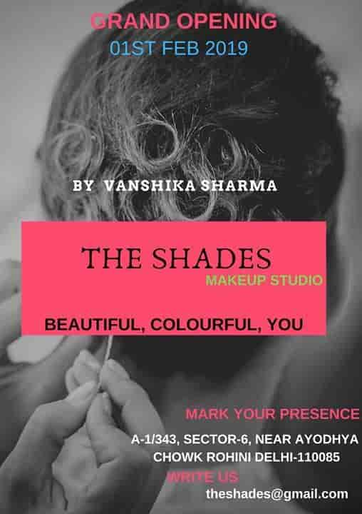 The Shades, Rohini Sector 6 - Beauty Parlours in Delhi