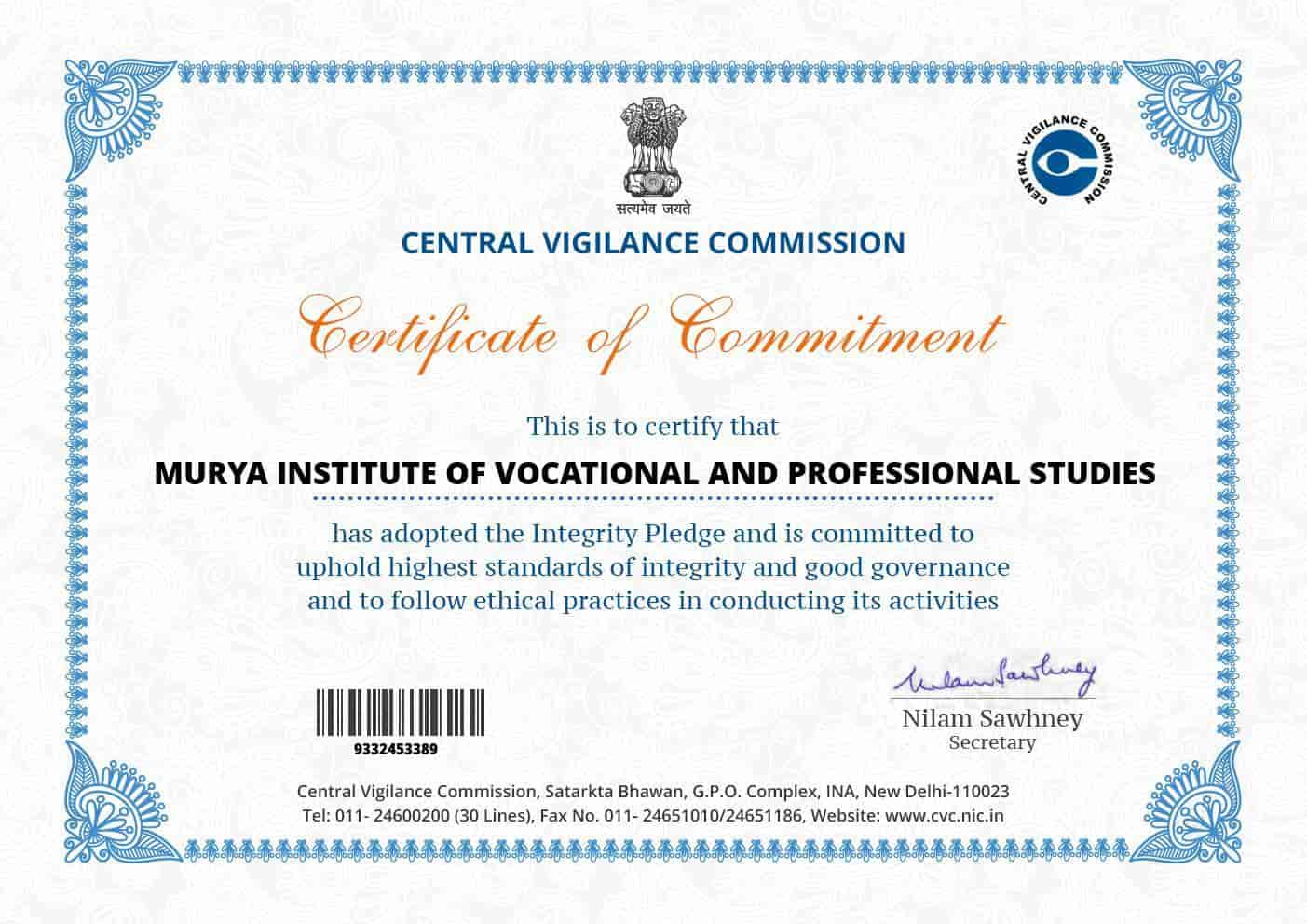 Maurya Institute Of Vocational & Professional Studies, Mangolpuri