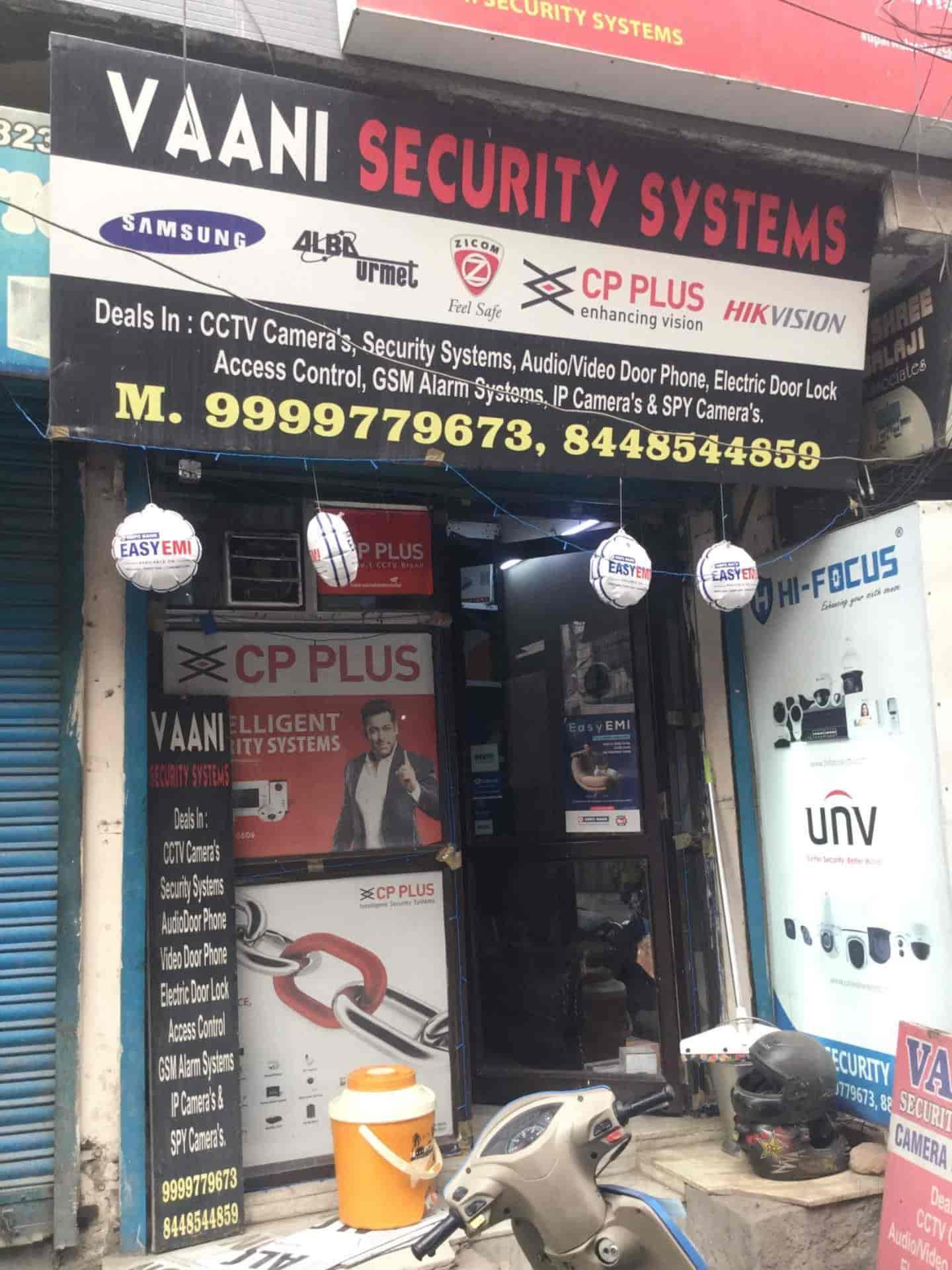 Vaani Security Systems, Krishna Nagar East - CCTV Dealers in