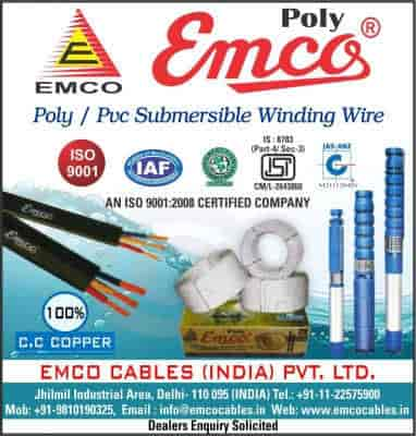 Emco Cables India Pvt Ltd, Jhilmil Industrial Area - Wire
