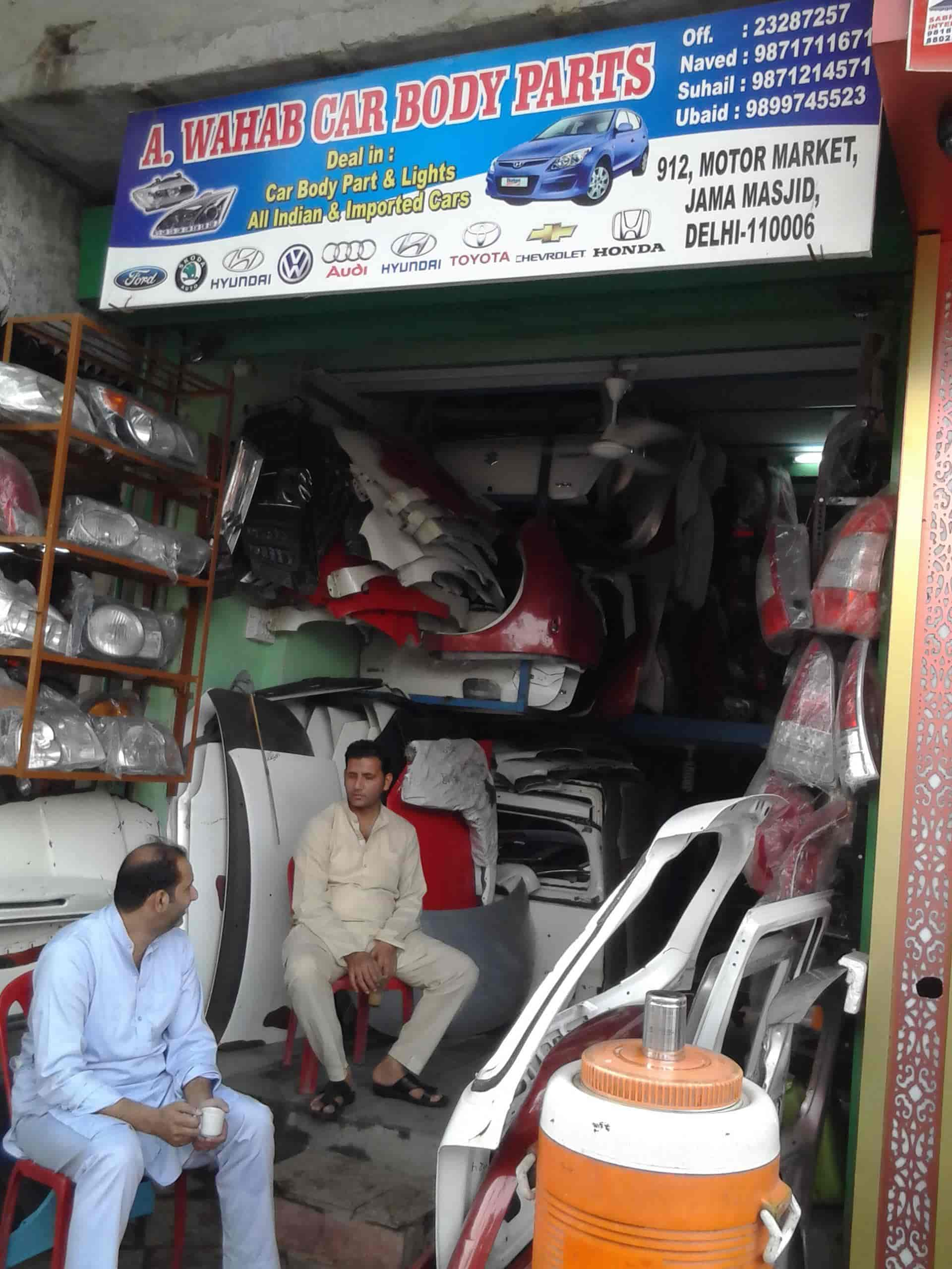 A Wahab Car Body Parts Jama Masjid Car Part Dealers In Delhi