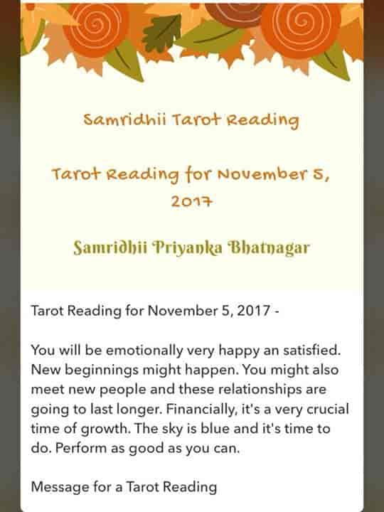 Samridhii Tarot Reading, Lado Sarai Mehrauli - Tarot Reading