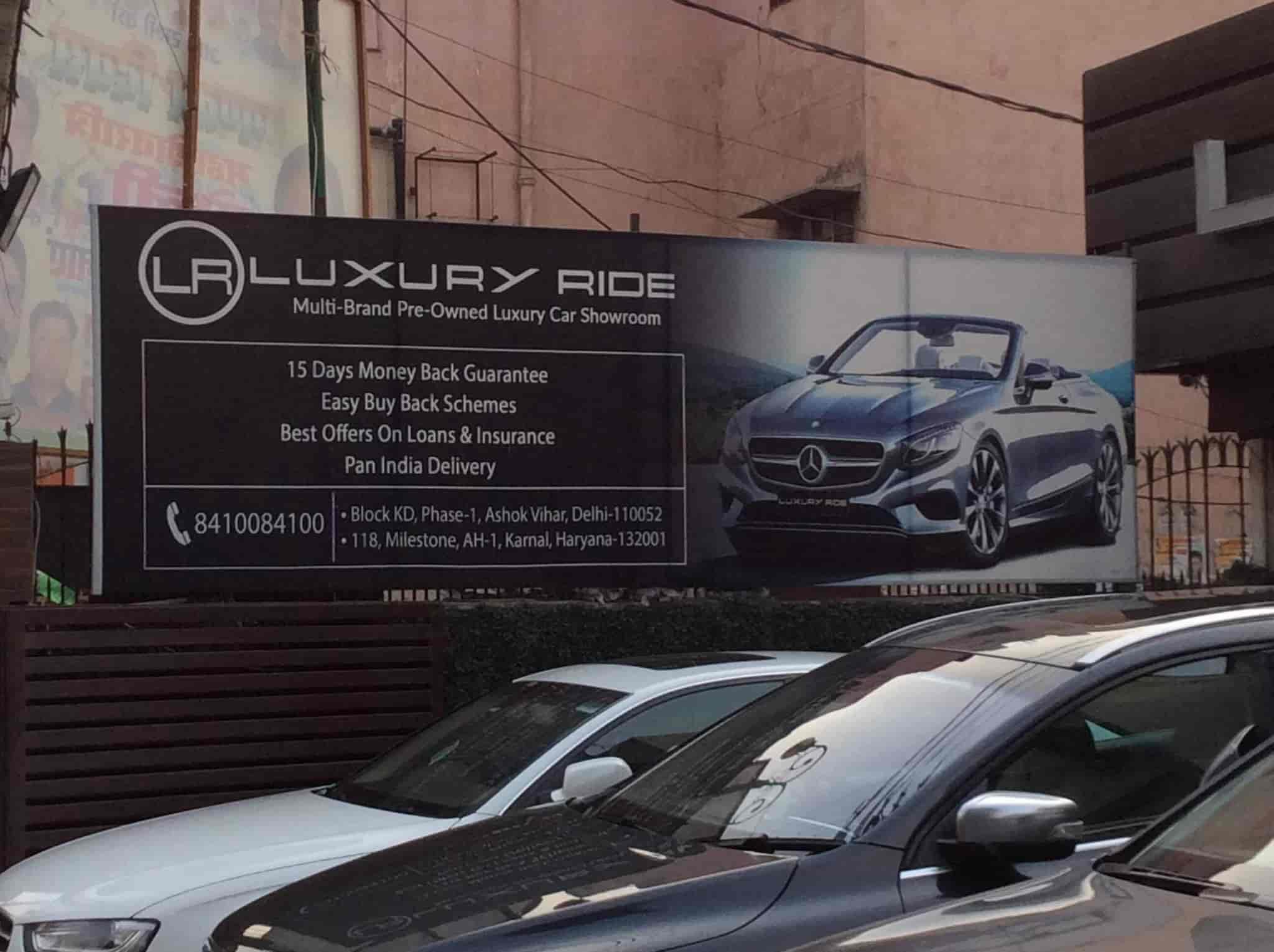 Luxury Ride Ashok Vihar Second Hand Imported Car Dealers In Delhi