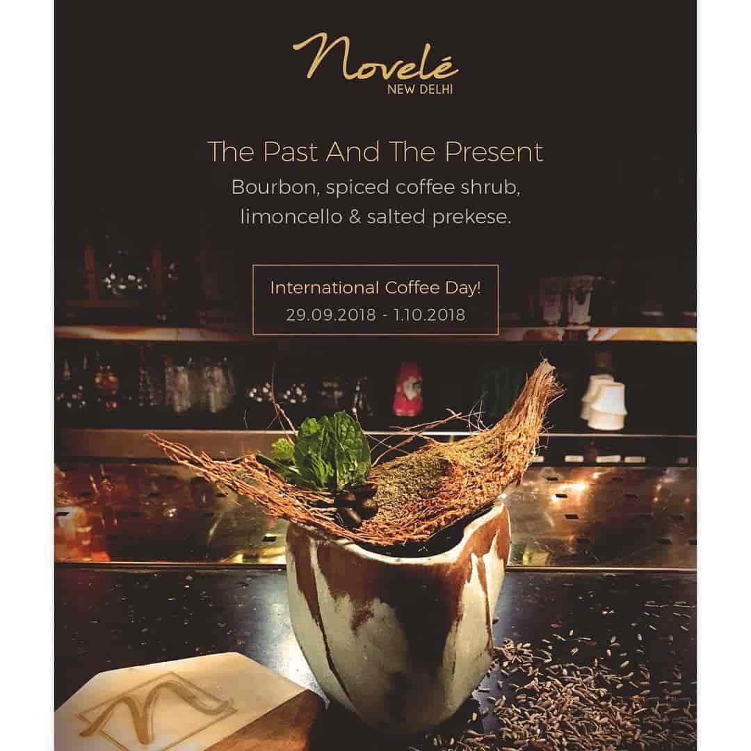 Novele Restaurant (Shangri -La's Eros Hotel), Connaught Place, Delhi
