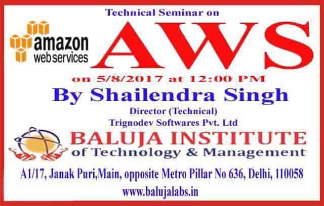 Baluja Labs, Janakpuri - Computer Training Institutes For