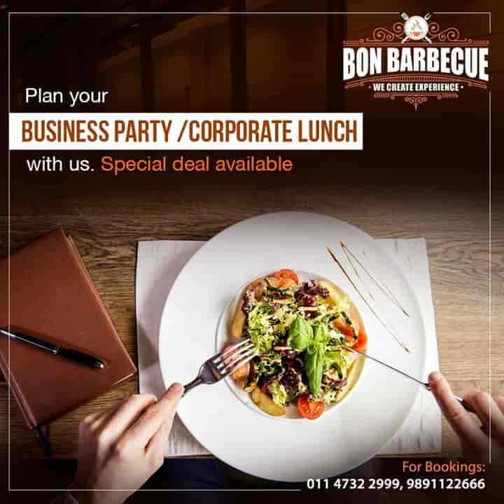 Bon Bar Be Cue Rajouri Garden Delhi North Indian Cuisine
