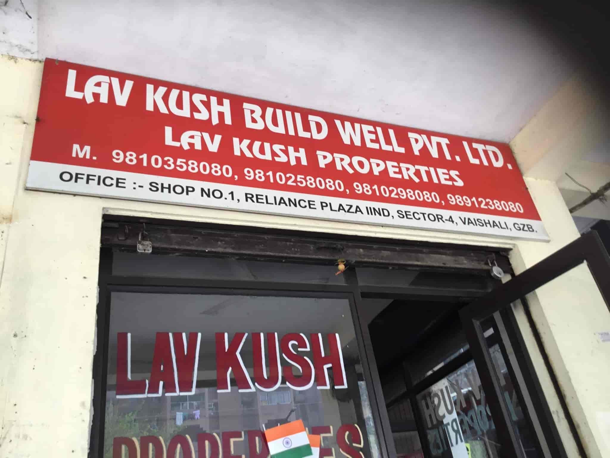 Luv Kush Properties Vaishali Sector 4 Estate Agents In Delhi