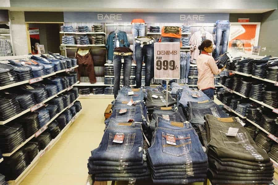 85fe8bf0c00940 Inside View of Readymade Garment Showroom - Brand Factory (Vikas Surya  Mall) Images