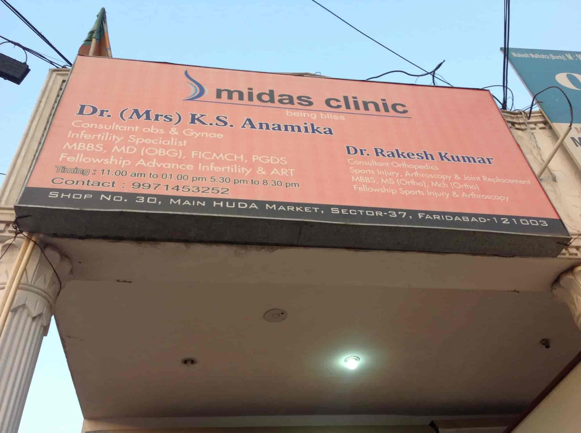 Midas Clinic - Gynaecologist & Obstetrician Doctors - Book