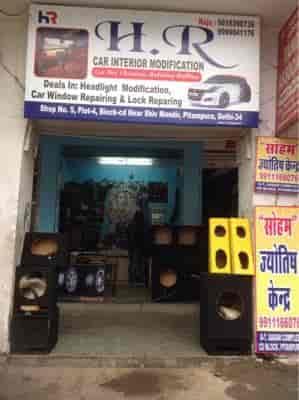 H  R car interior Modification, Pitampura - Car Accessory