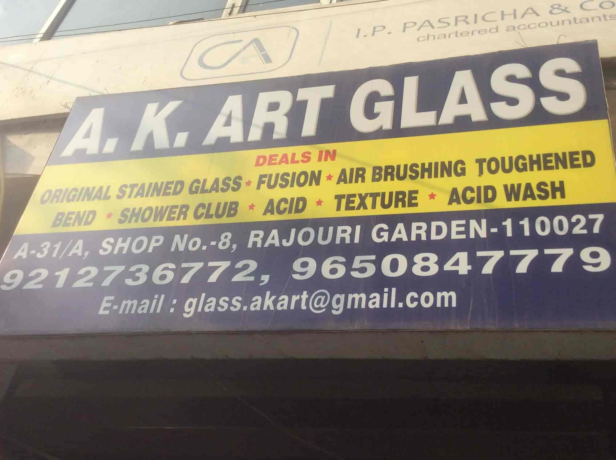 AK Art Glass Rajouri Garden